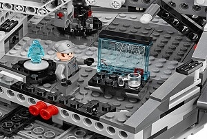 Interior del punte de mando Star destroyer Lego 75055